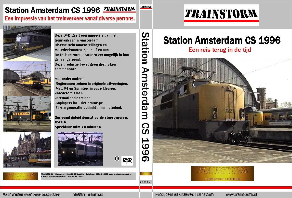 Station Amsterdam CS 1996