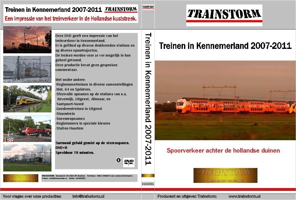 Treinen in Kennemerland 2007-2011