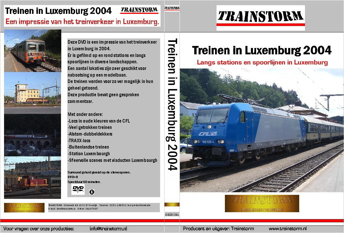 Treinen in Luxemburg 2004