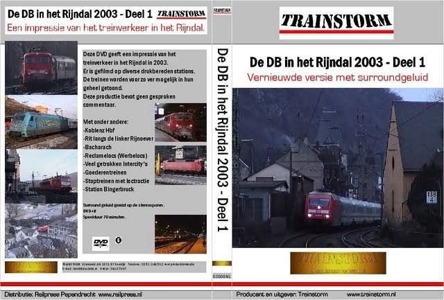De DB in het Rijndal 2003 deel 1