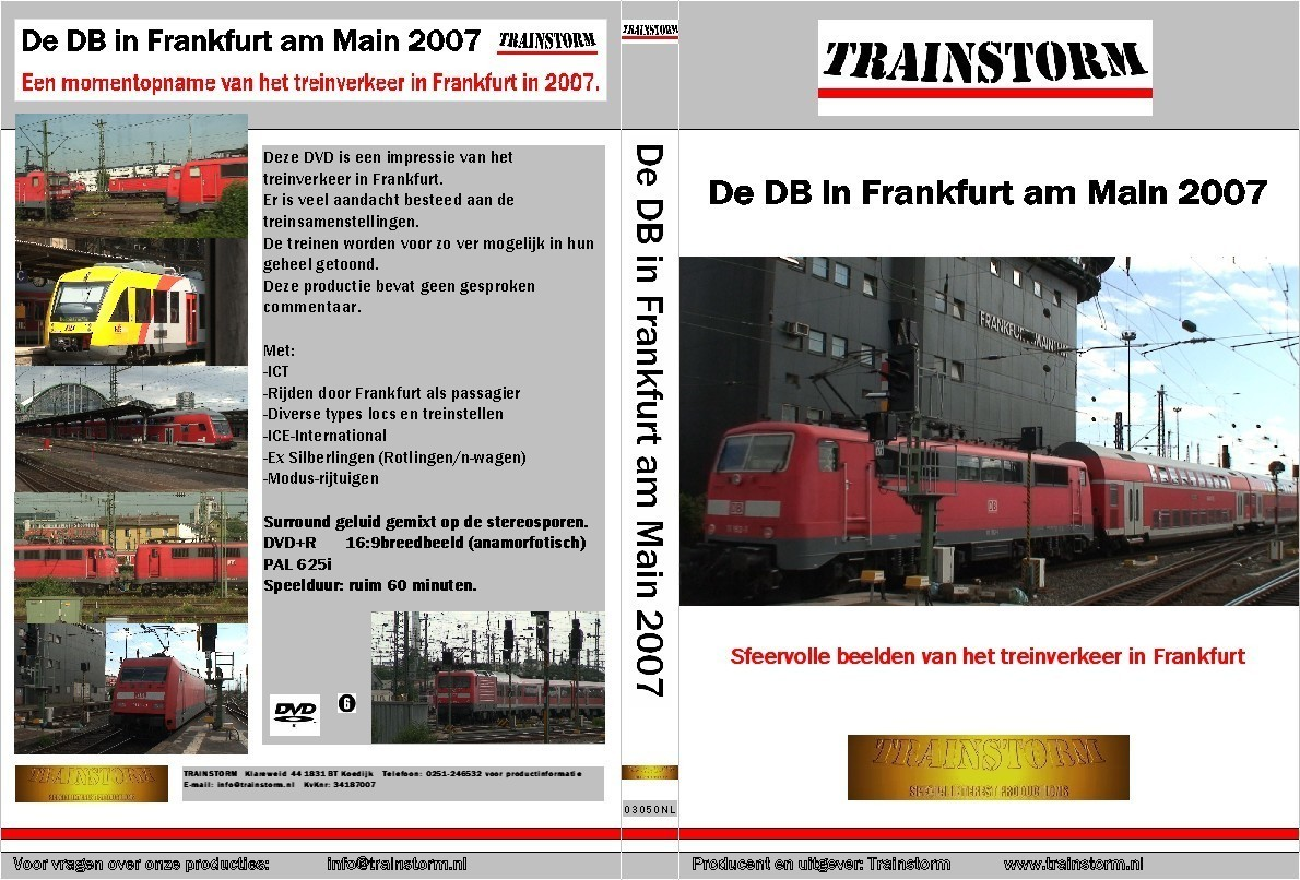 De DB in Frankfurt am Main 2007