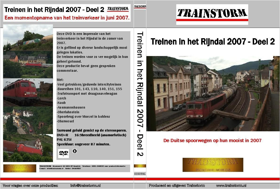 De DB in het Rijndal 2007 deel 2