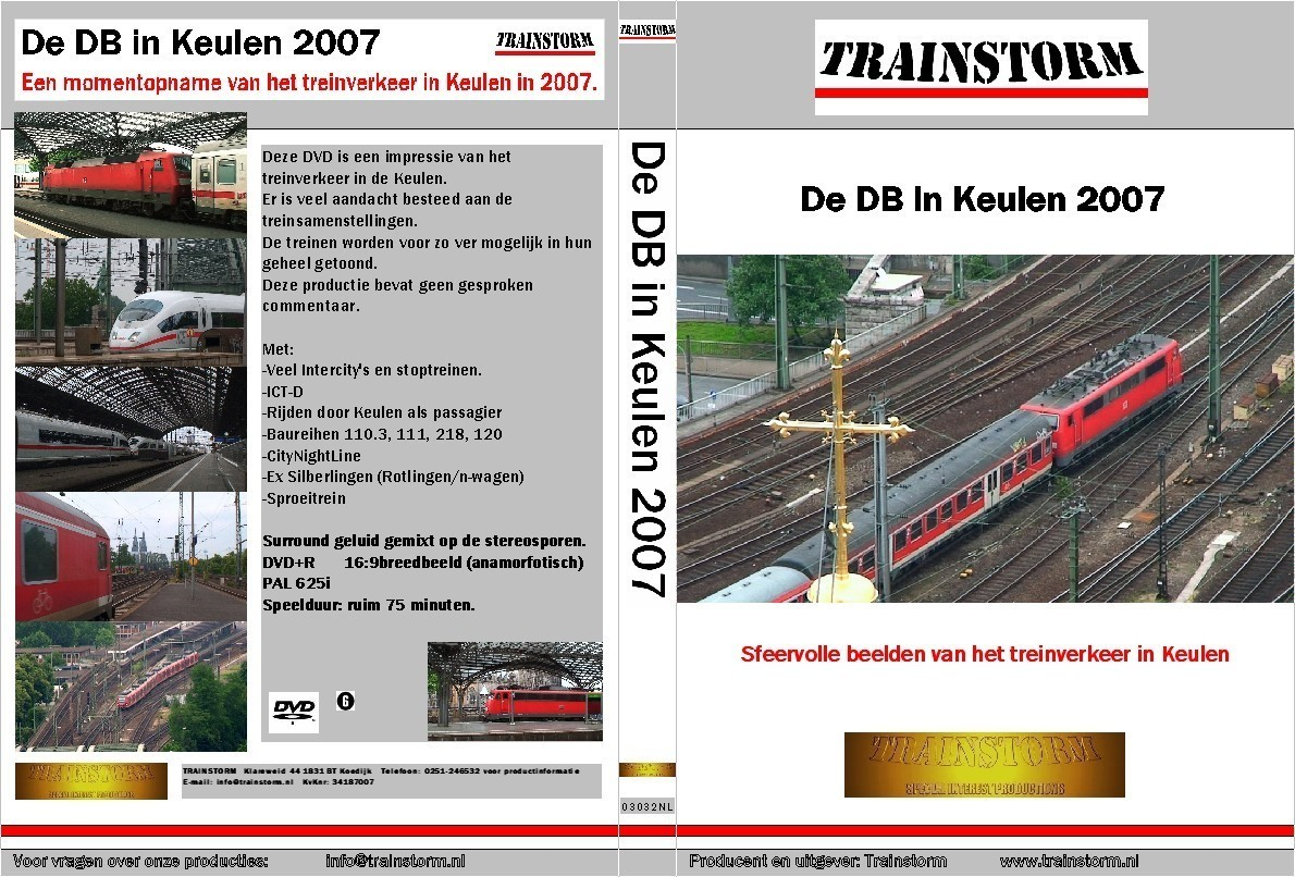 De DB in Keulen 2007