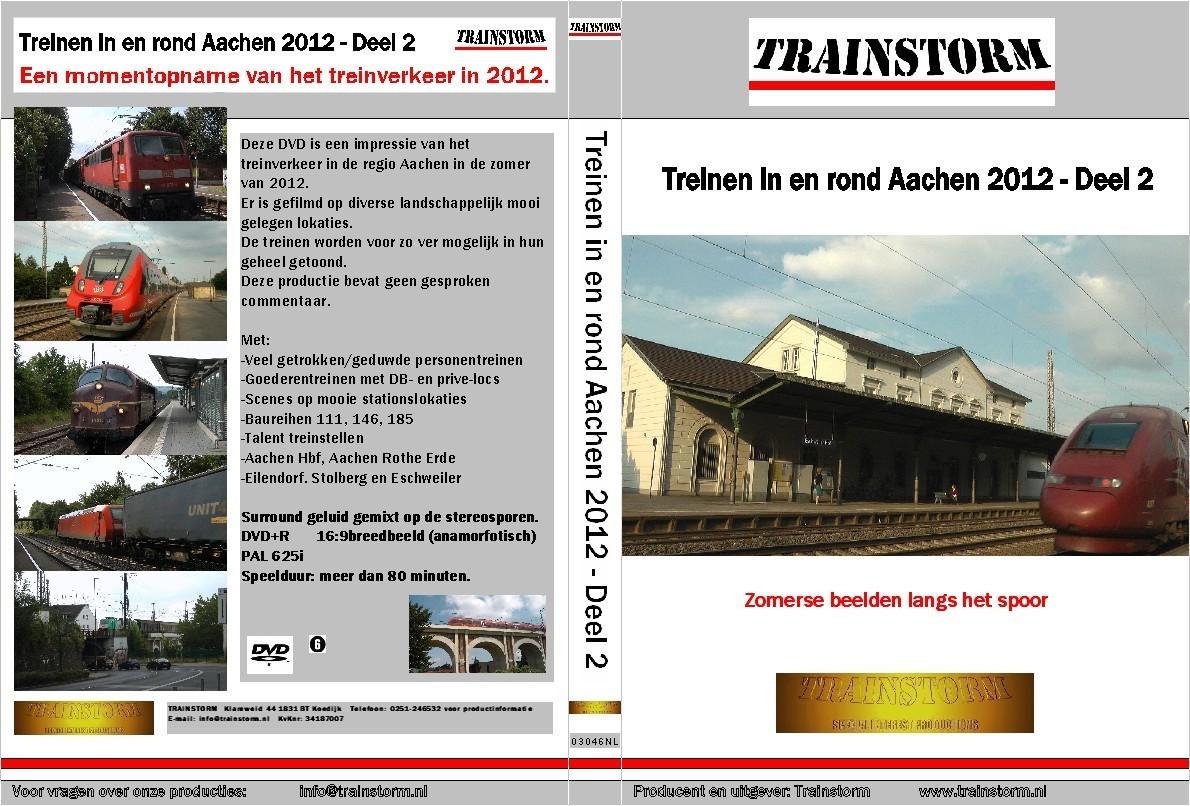 Treinen in en rond Aachen 2012 deel 2