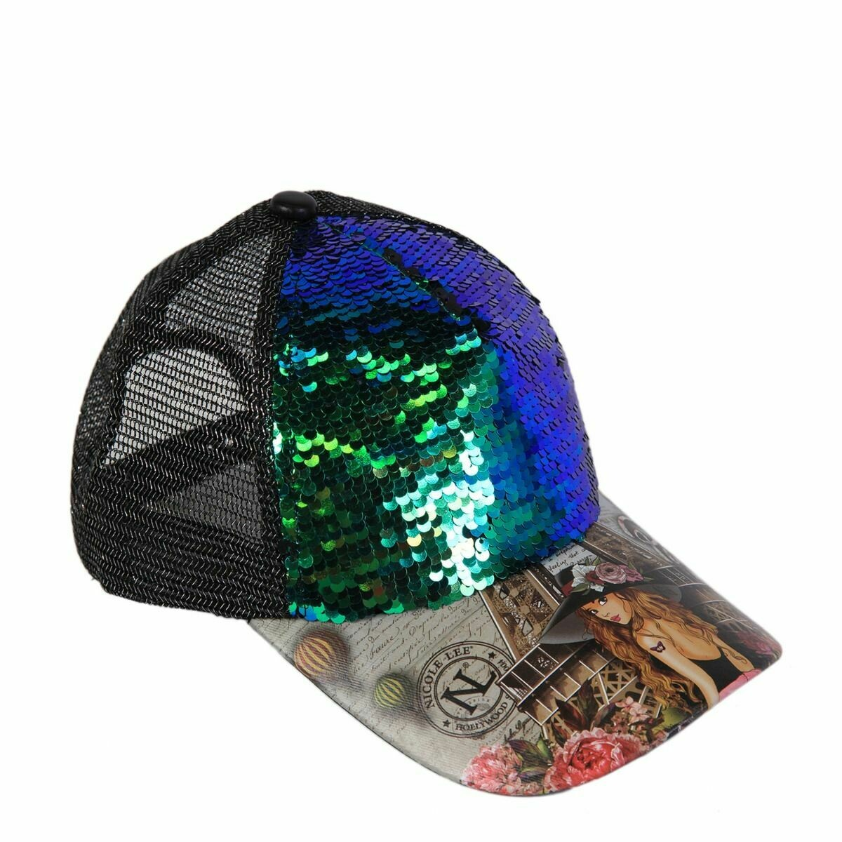 Кепка REVERSIBLE SEQUINS CAP