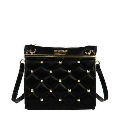 Кроссбоди STUDDED QULTED CROSSBODY BAG