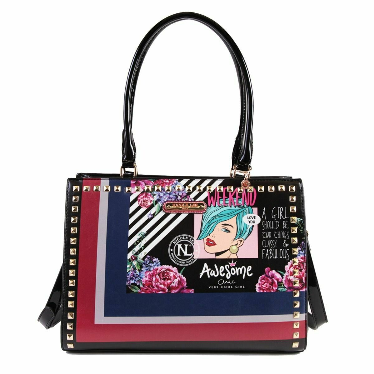 Сумка POP ART STUDDED HANDBAG