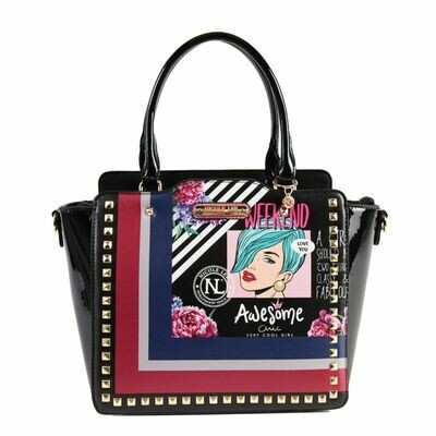 Сумка POP ART STUDDED SATCHEL BAG