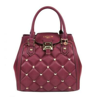 Сумка STUDDED QUILTED SATCHEL BAG