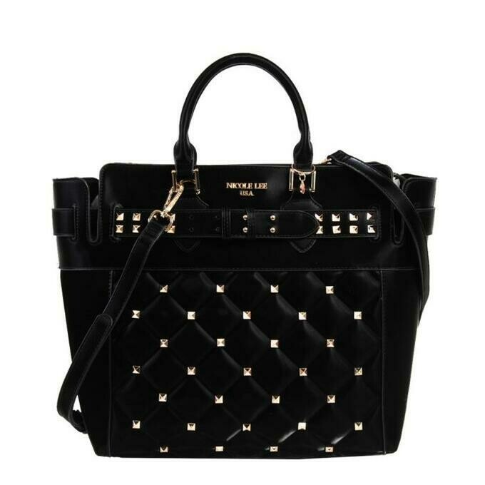 Сумка STUDDED QUILTED TOTE BAG
