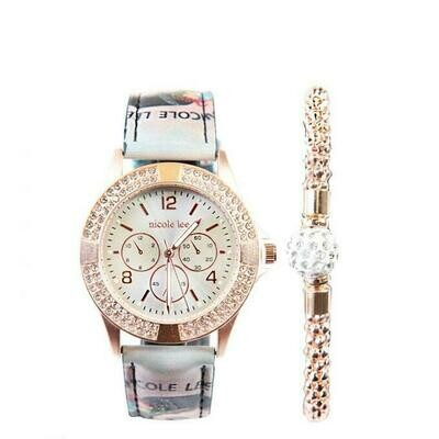 Часы CRYSTAL WATCH WITH BRACELET SET
