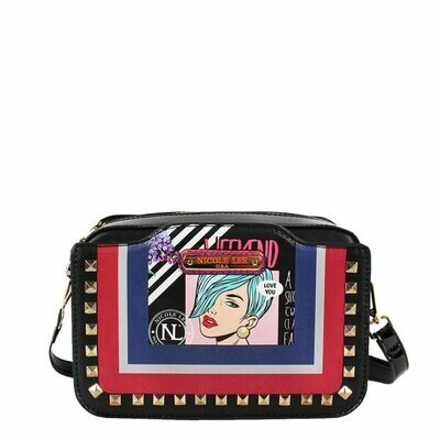 Сумка POP ART STUDDED CROSSBODY