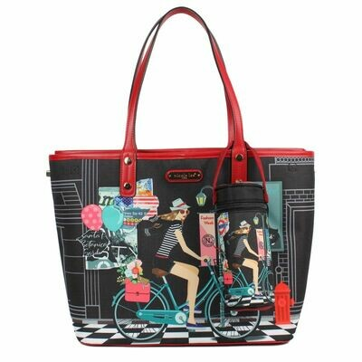 Сумка MABEL DIAPER BAG WITH CHANGING MAT AND REMOVABLE POUCH