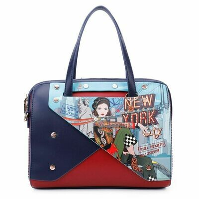 Сумка COLOR BLOCK NEW YORK BOSTON BAG