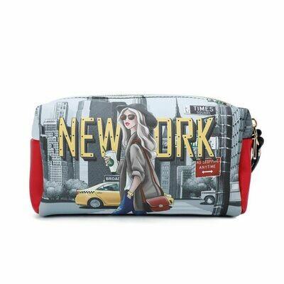 Косметичка PRT7009 NEW YORK WALK