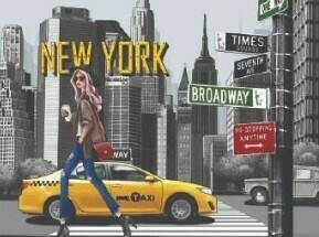 Кеды TS21138 NEW YORK WALK