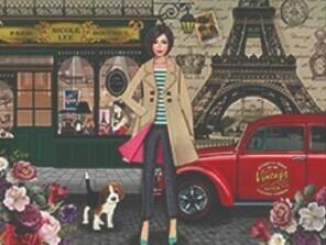 Кеды TS21138 RUE DE PARIS