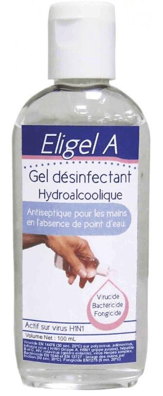 Gel Hydroalcoolique Eligel A 100ml