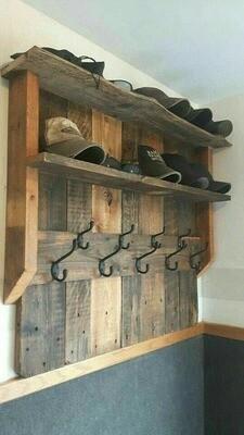 Shelf / Coat Rack