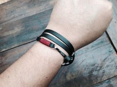 3 wrap anchor bracelel R/N
