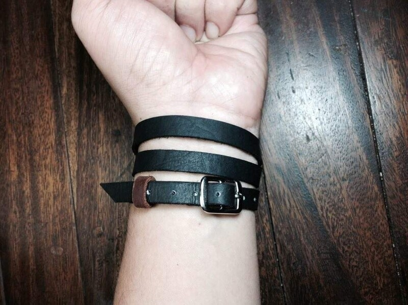 Belt Bracelet Black