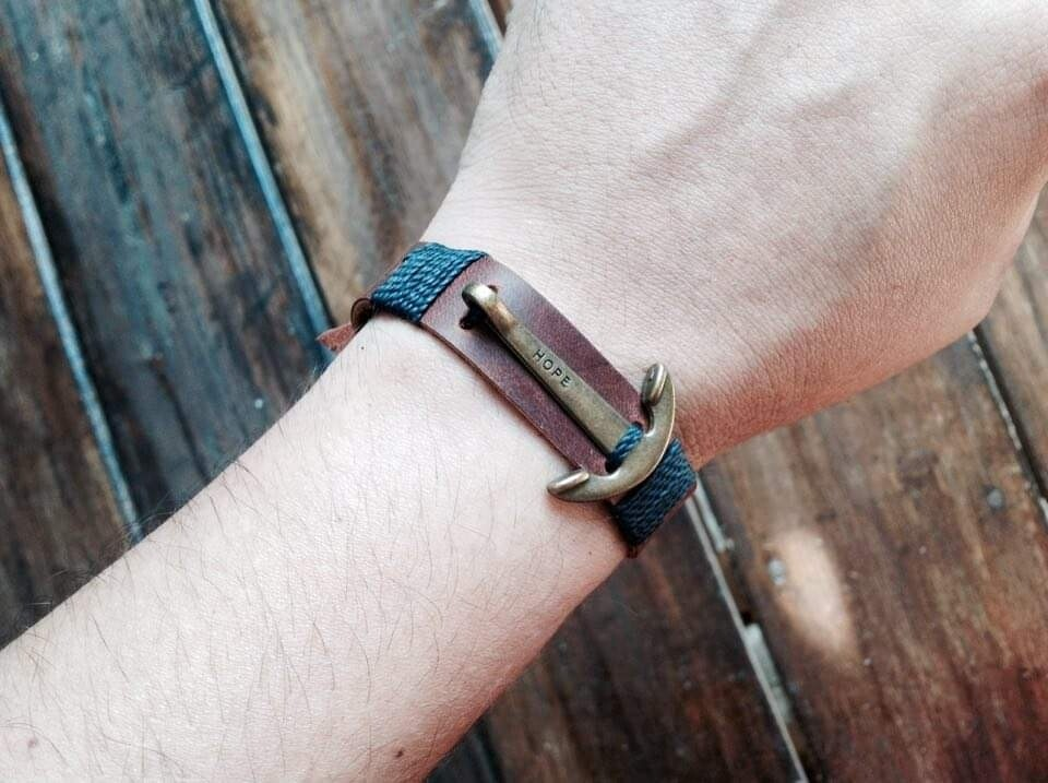 Fisherman bracelet B&B