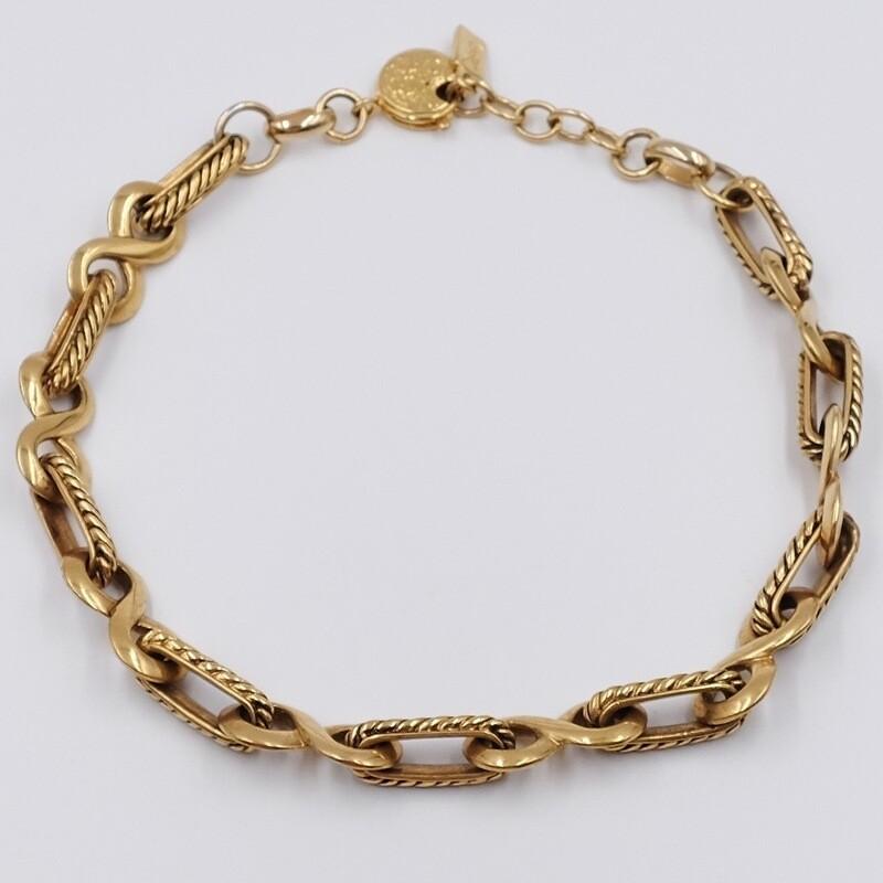 Эффектное ожерелье Yves Saint Laurent 1980-е