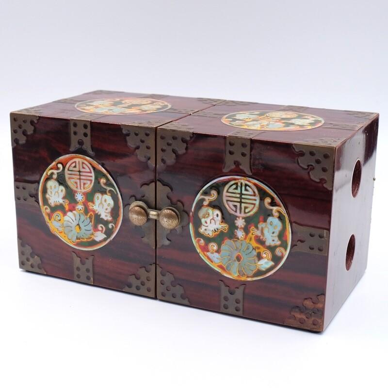 Необычная японская шкатулка для украшений 1930-е
