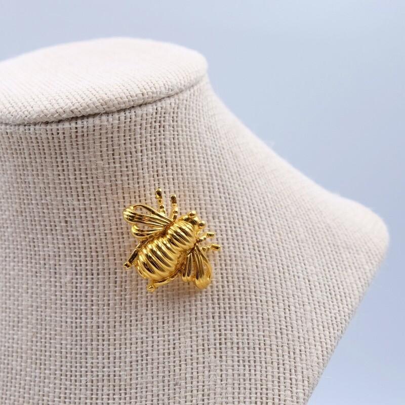 Винтажная брошь Joan Rivers пчелка