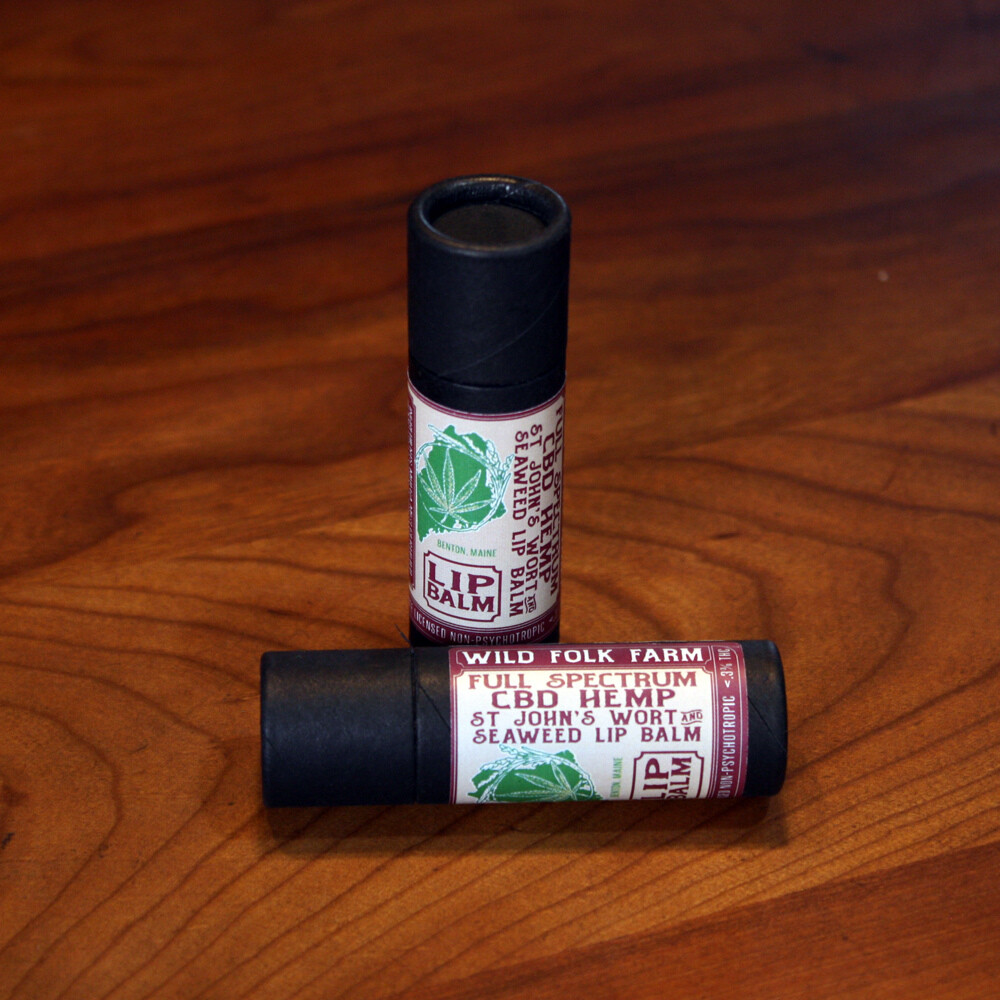 CBD Hemp Lip Balm (10ml / 25mg)