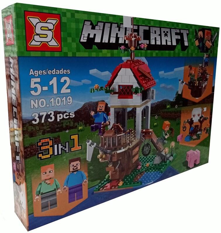 Minecraft. 3 in 1.