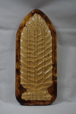 Arrowhead Cribbage Board with Pegs