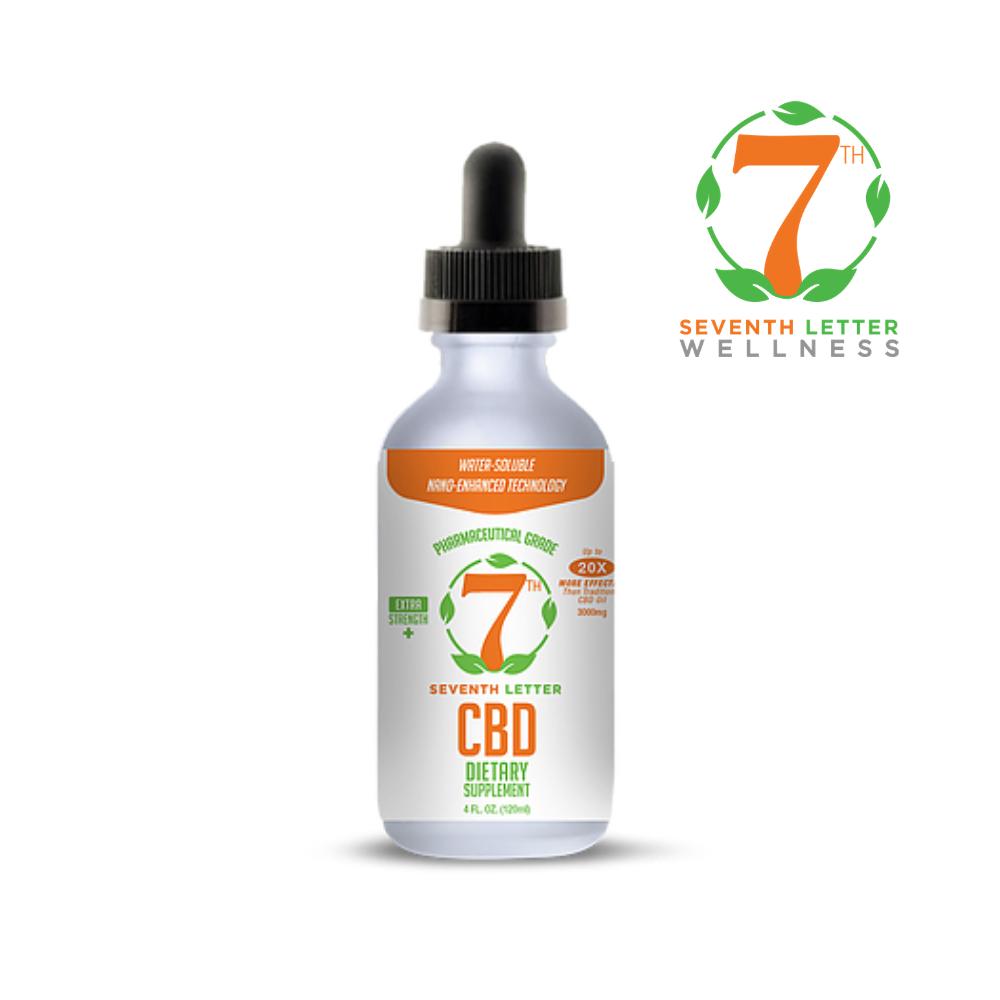 Double Strength (4 fl oz) Nanoshell CBD Oil 3000mg