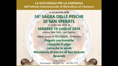 Prenotazione Cena in Piazza 58° Sagra delle Pesche - San Sperate