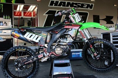 Josh Hansen Replica Decal Kit