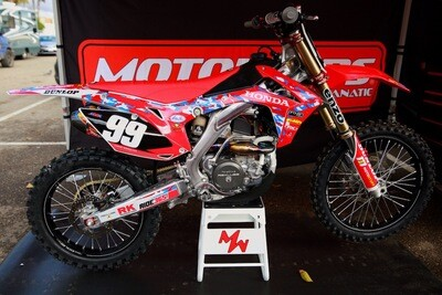 Chase Marquier Military Appreciation Replica Decal Kit