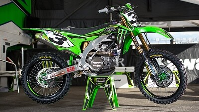 Eli Tomac Monster Replica Decal Kit