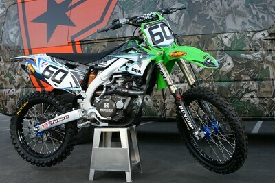 Josh Hansen DBK Replica Decal Kit