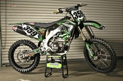 Motocross Action Replica Decal Kit