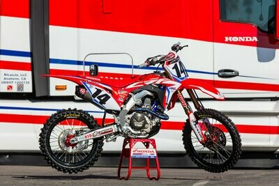 Cole Seely 2018 Replica Decal Kit
