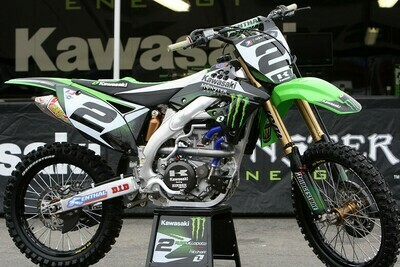 Ryan Villopoto Monster Energy Replica Decal Kit