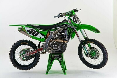 Davi Millsaps Monster Replica Decal Kit