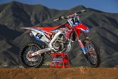 Cole Seely HRC Replica Decal Kit