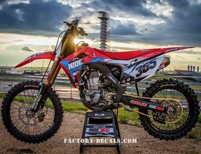 Brett Cue Ride365 Replica Decal Kit
