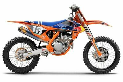 TLD Go-Pro Replica Decal Kit