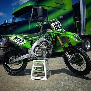 Mike Alessi Monster Replica Decal Kit