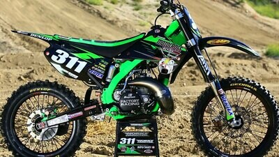 Motocross Action Splitfire Replica Decal Kit