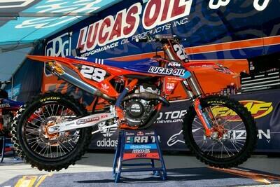 TLD Lucas Oil Replica Decal Kit