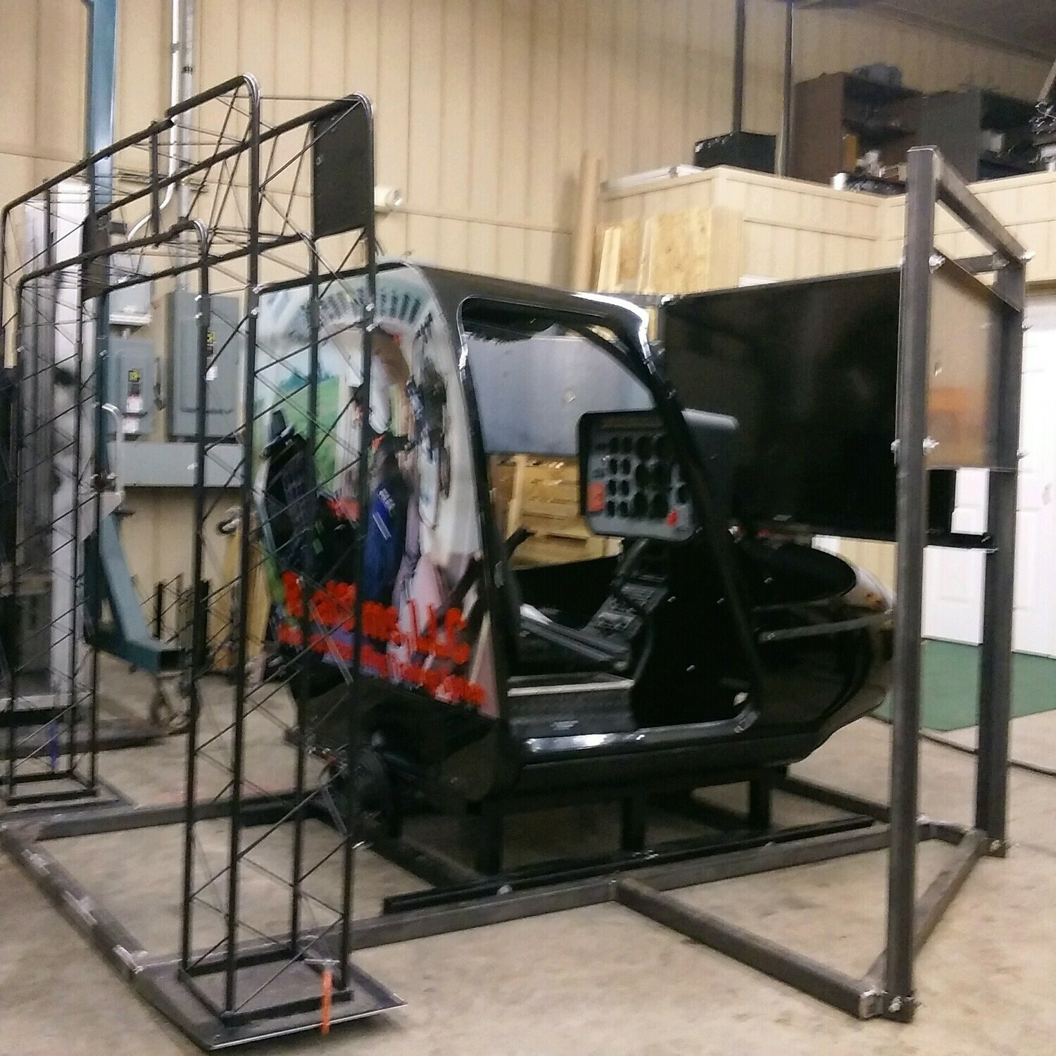 RealSims FasTrac ProSeries Bell 206B - Floor Based Helicopter Simulator