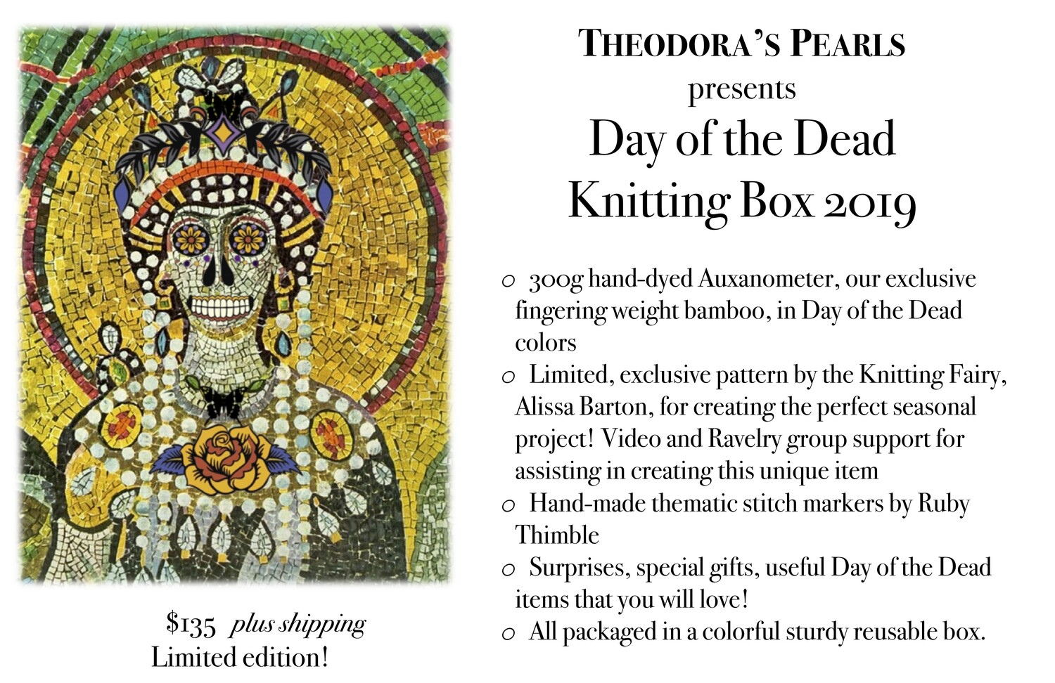 Day of the Dead Box 2019 - Shipped